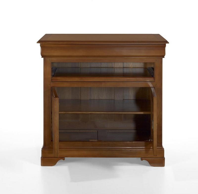 muebles tv 2 puertas jacinta hecho de cerezo macizo estilo