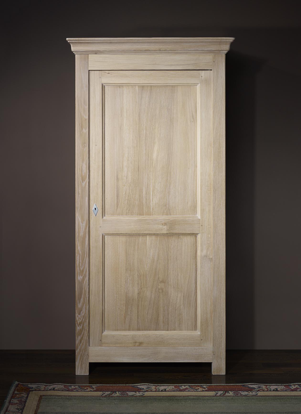 Armario de cocina Antonio de 1 puerta realizado en roble macizo ...