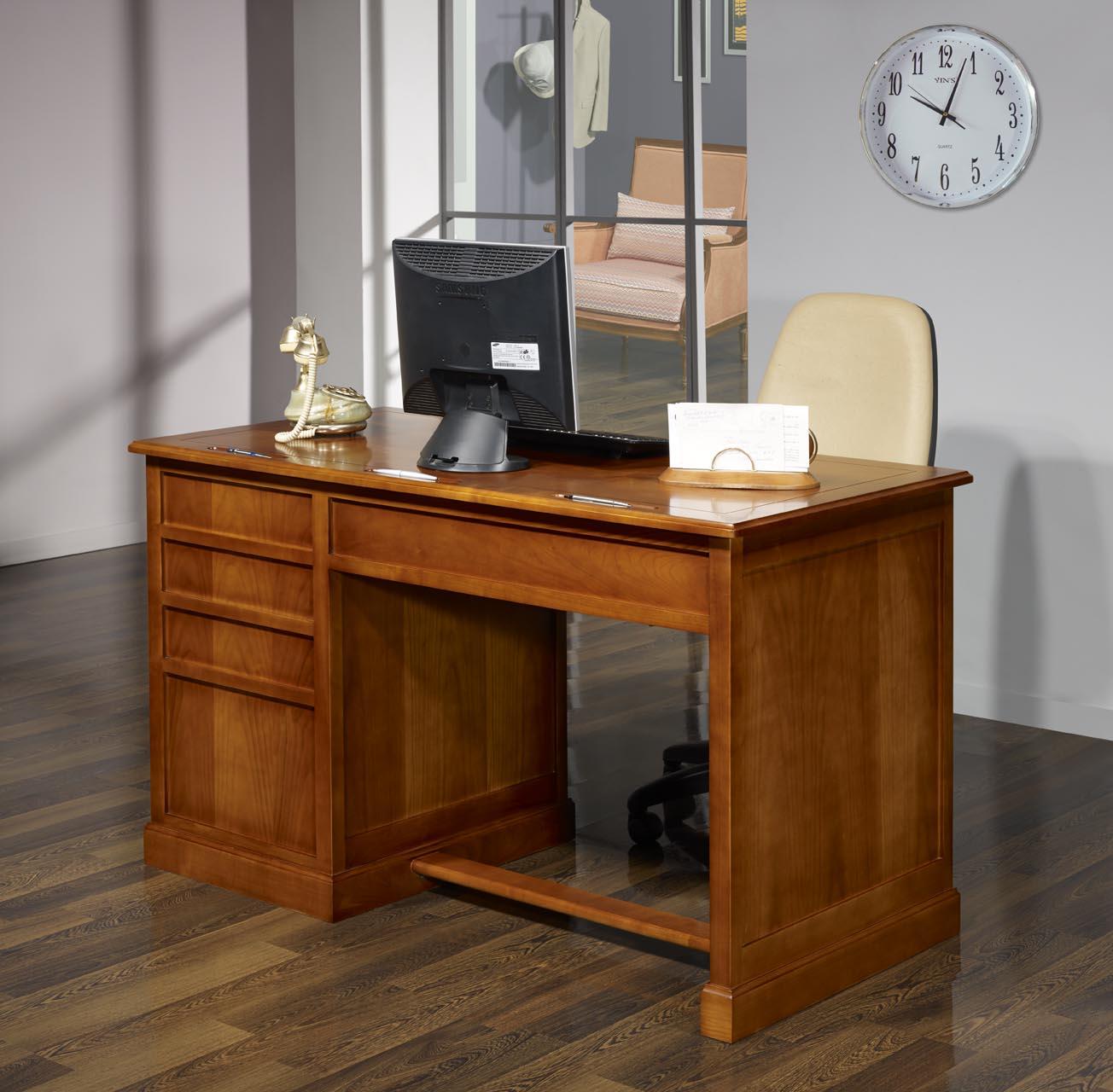 Mesa oficina escritorio jeanne con 5 cajones hecho de for Mesa escritorio oficina