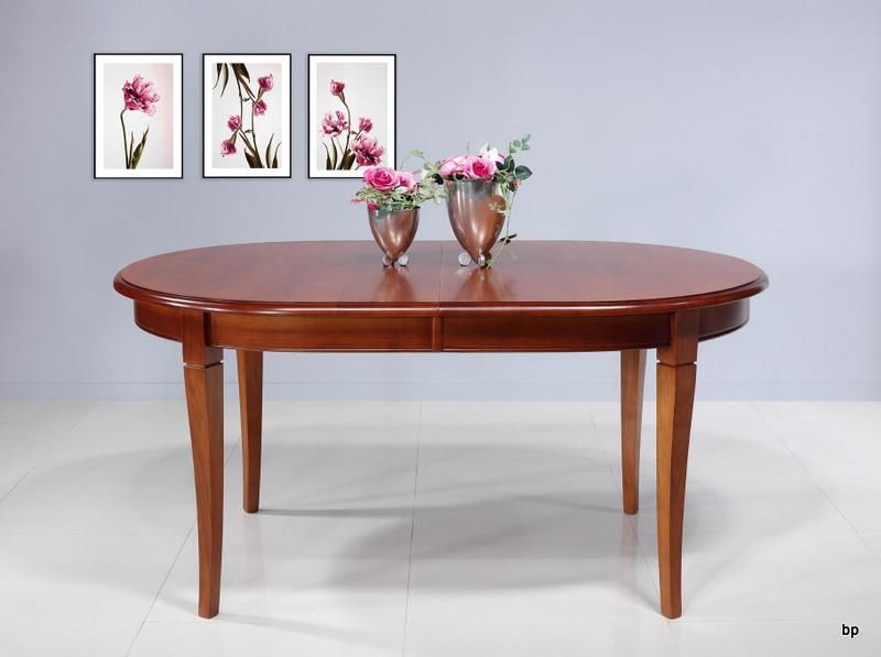 Pm136 mesa de comedor ovalada estrella hecha en madera - Mesa ovalada comedor ...