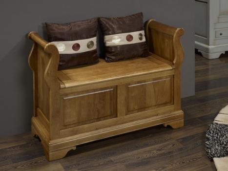 Arc n muebles de madera maciza madera de roble y abedul for Banco arcon madera