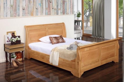 Camas Muebles de madera maciza, madera de roble y abedul